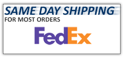 Same Day Shipping for Most Orders