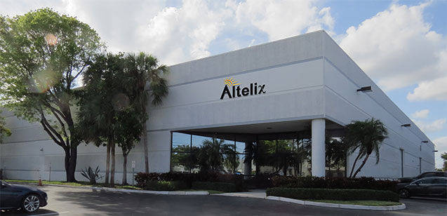 Altelix's Engineering, Manufacturing and Distribution facility in Boca Raton, Florida