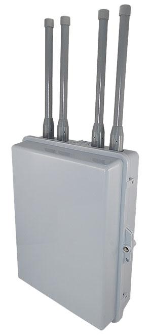 Altelix NP171406 Series Enclosure with Altelix AUV2458G6-NM Antennas